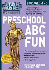 Star Wars Workbook: Preschool ABC Fun by Workman Publishing