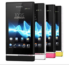 "Unlocked Sony Xperia U ST25i 4GB 3.5"" 5MP Android Smartphone Black"