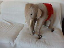 """Steiff 400407 """"Elefant auf Räder"""" limitiert"""