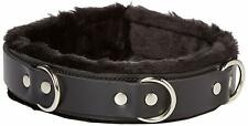 "Strict Leather Fur Lined 1"" Collar - Brand New Sealed"