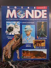Encyclopédie notre monde Cavendish Paris 1994-1997 ARTBOOK by PN