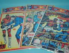 lot of 3 PUZZLES SUPERMAN vs MUHAMMAD ALI COMIC SEALED PACK COLLECTIBLE & RARE