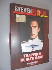 DVD N° 2 STEVEN SEAGAL ACTION TRAPPOLA IN ALTO MARE GAZZETTA DELLO SPORT