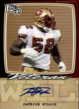 2008 Topps Rookie Progression Signatures Bronze #PW Patrick Willis Auto # 23/35