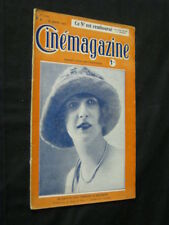 JAN 27, 1922 FRENCH CINEMAGAZINE Uncut Complete 29 pgs