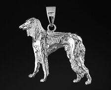Grand Pendentif Chien LEVRIER SALUKI   -  Pendant SALUKI DOG