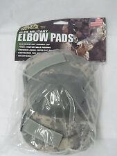 Alta Tactical Army ABU Digital Camo Camouflage Flex Elbow Pads