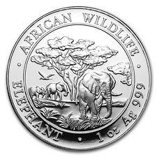 2012 Somalia 1 oz Silver Elephant BU - SKU #65933