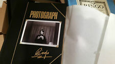 RINGO STARR Photograph SIGNED Genesis Publications Collectors Edition
