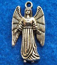 50Pcs. WHOLESALE Tibetan Silver Archangel ANGEL Samuel Charms Pendants Q0867