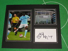 Yaya Toure Signed Manchester City FC Mount