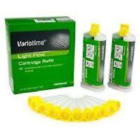 New Dental Kulzer Variotime A silicone VPS Impression Light Flow Body 2 x 50ml