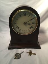 Antique Herschede Hall Clock Co. Mantel Clock Grand Prize - Works Great