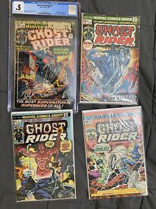 🔥Marvel Spotlight 5 CGC & Ghost Rider 1, 2, & 10 Ghost Rider Key Issues Set🔥