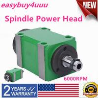 CNC Milling Machine BT30 Spindle Unit Power Head 6000rpm with lever Best