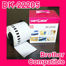 1 Roll of Compatible Brother DK-22205 Continuous Label