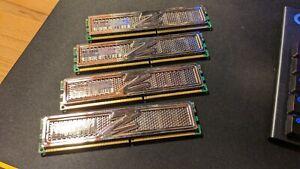 4GB OCZ Platinum Edition PC 3200 OCZP4002GK - 4 x 1GB DDR400 2-3-2 @ 2.8V