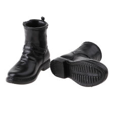 """1/6 Scale Half Boots Shoes for 12"""" Male Hot Toys Sideshow DID Action Figures"""