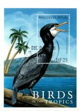 VINTAGE CLASSICS - Maldives 2476 - Birds of the Tropics CANCELLED - S/S - CTO