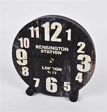 Tisch-, Kamin- & Reiseuhren aus Holz mit 12-Stunden-Anzeigeformat