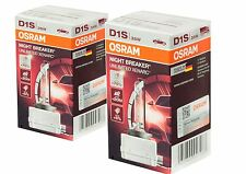 2 unidades OSRAM d1s 66140 xnb NIGHT BREAKER Unlimited Xenarc xenón bulb