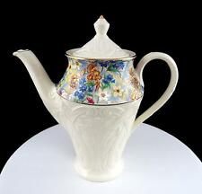 "ERPHILA BRIGHTON #170/1 CHEERY CHINTZ EMBOSSED RARE MINI 7 1/2"" COFFEE POT"