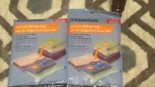 2 Vacuum Storage Essentials Bags 17.5 x 27.5 3 x Space Bag Airtight Waterproof