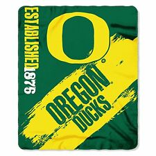 "NCAA Oregon Ducks Fleece Throw Blanket 50"" x 60"""