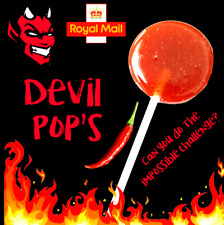 DEVIL'S Chilli LOLLYPOP, TOE OF SATAN - Extremely HOT  🔥🔥🔥 One Chip Challenge
