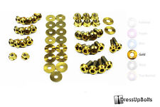 Dress Up Bolts for 04-05 Subaru WRX and STI Gold Ti Titanium Engine Bay Kit
