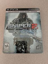 SNIPER 2 GHOST WARRIOR BULLETPROOF STEELBOOK ED. PLAYSTATION 3 PS3 NEW SEALED!