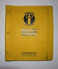 Aqua-Lung U.S. Divers Vintage 1970's Repair Manual