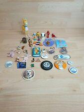 More details for vintage badges, pins, keyrings + misc - nice retro bundle - disney babycham blob