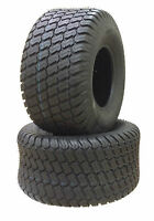 (TWO) 20X8.00-10 20X8-10 20810 Riding Lawn Mower Turf Tires 4 Ply Rated P332