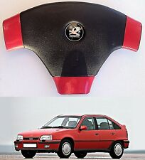 VAUXHALL ASTRA 3  / OPEL KADETT E / CAVALIER 3 STEERING WHEEL SPOKE WRAPS -RED