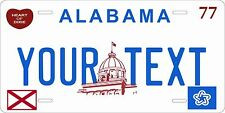 Alabama 1977 License Plates Tag Personalized Auto Car Custom VEHICLE OR MOPED