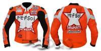 Repsol One Heart Motorbike Leather Jacket