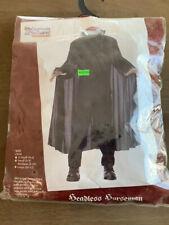 Child Headless Horseman Halloween costume, size Medium 8-10