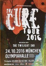 THE CURE  2016  MÜNCHEN  - orig.Concert Poster -- Konzert Plakat  A1 NEU
