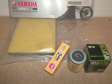 Tune Up Kit Yamaha TTR225 TTR 225 1999-2004 OEM air filter + Spark plug Oil