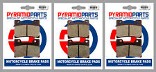 Front & Rear Brake Pads for Yamaha TDM850 96-01 V-Max 12 93-03