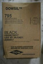 Dowsil 795 Silicone Building Sealant (Black) / Full Case of (12) 10.3oz. Tube