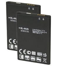2x 1500mAh Battery For LG Optimus Zone E400 Optimus L3 E400 L5 E612 BL-44JN