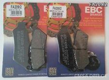 KTM Adventure 950 / 990 (2002 to 2012) EBC Kevlar FRONT Brake Pads (FA209/2)