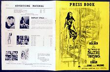 WORLD OF SUZIE WONG 1960 William Holden, Nancy Kwan Sylvia Syms UK PRESSBOOK