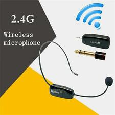 New 2.4G Wireless Microphone Speech Headset Megaphone Radio Mic for Loudspeaker