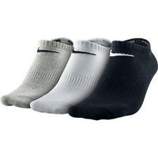 Nike PERFORMANCE 3 ppk Pair Mens Womens Unisex Cotton Crew Ankle Sports Socks
