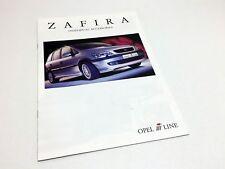 2001 Irmscher Opel Vectra i-Line Brochure