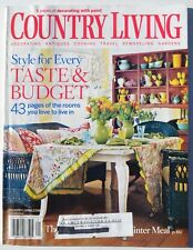 Country Living Magazine - January 2006 - Style for Every Taste & Budget and More