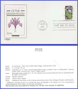 USA3 #2663 U/A ARTMASTER FDC   Blue Flag Wildflower